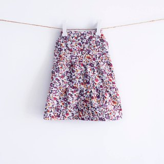 Can be customized. Spring and small floral dress pet clothes