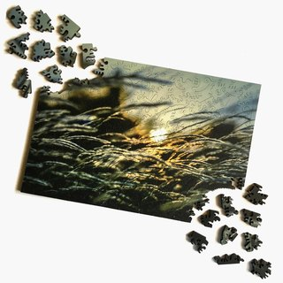 200P Wooden Puzzle _ Sunrise