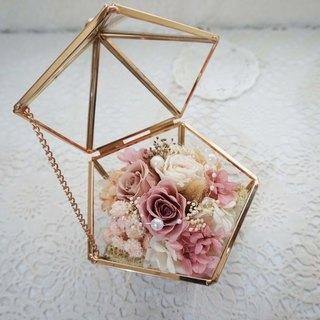 Not withered. Eternal flowers romantic glass house*exchange gift*Valentine's Day*wedding*birthday gift * graduation