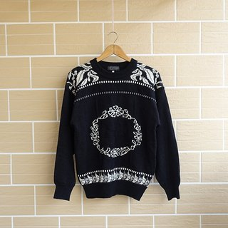 │Slow│ wreaths - vintage retro sweater │vintage literary whims cute....