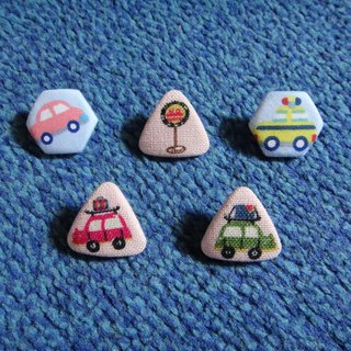 (C) Mini Car Club _ cloth badge buttons