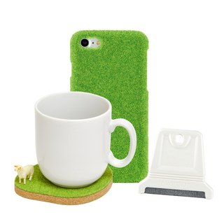Goody Bag - Shibaful popular Fu bag turf phone case + cleaning brush + animal coaster