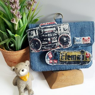 Mini bear hand made radio skateboard small bag card sets document sets package group exclusive section