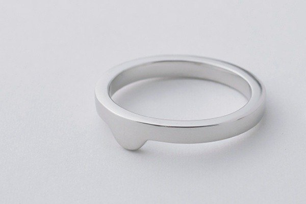 【Silver925】smileadd_flat: ring