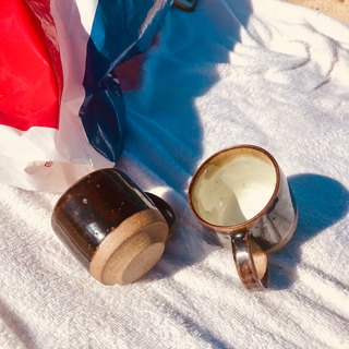 Hand made coffee cup