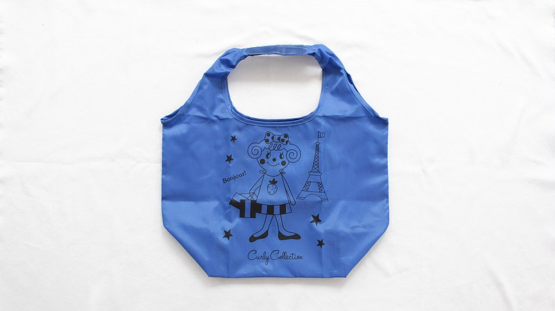 Eco Bag / Paris Ichigo x Blue