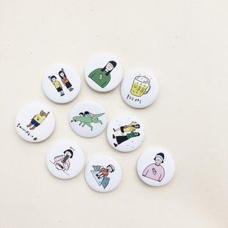 Buddy | 44mm big badges