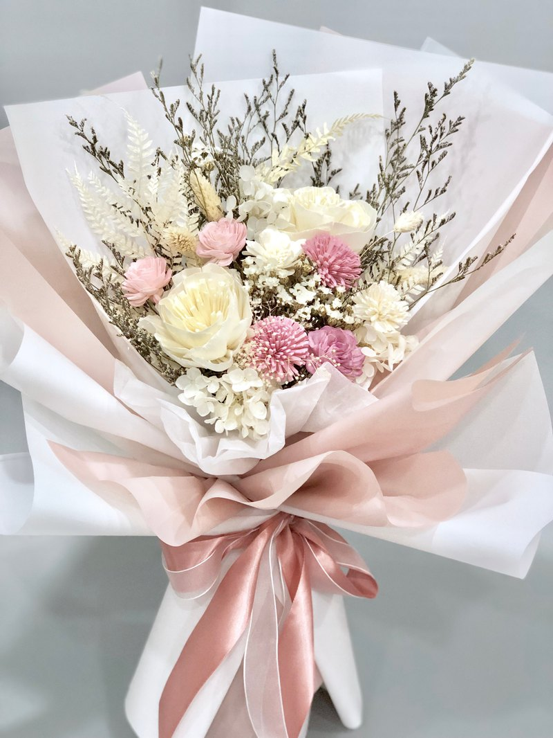 Pink Dry bouquet