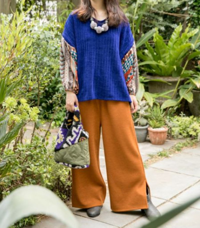 [Spot Hot Sale] Knitted Bandwidth Banded Trousers (Tricolor) JCZ-9901