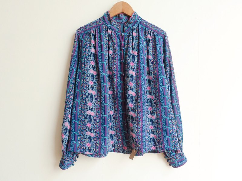 Vintage / shirt / long sleeve no.342 tk
