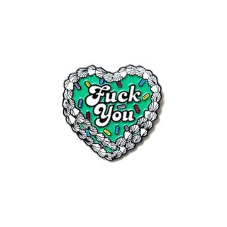 Artist Pin: PINDEMIC x Eyecandydesigns - Fuck you