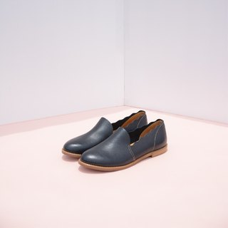 Leather Slippers | Black