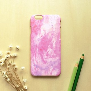 Retro pink Marbling. Matte Case( iPhone, HTC, Samsung, Sony, LG, OPPO)