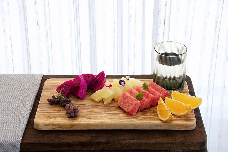 經典長方橄欖木砧板-35公分-料理/上菜/綜合拼盤