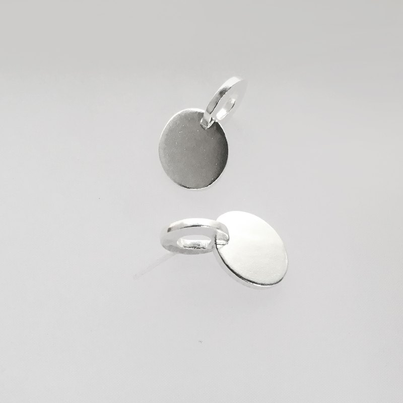[Positive and negative] 925 sterling silver earrings