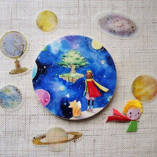 Little Prince absorbent ceramic coaster