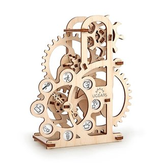 /Ugears/ Ukrainian Wooden Model Lucky Wheel Turntable Dynamometer