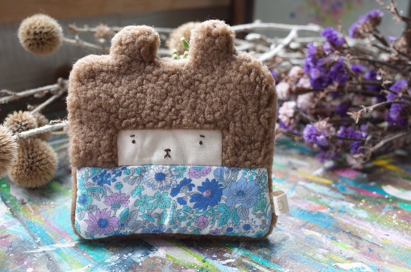 Doo Bunny Coin Purse - May Flower / Blue