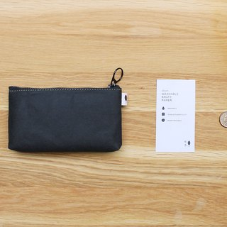 Warm black series - rectangular coin purse