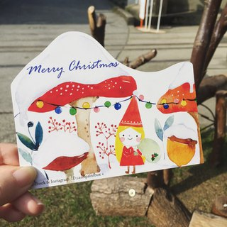 Elf Christmas Styling Card / Envelope