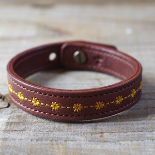Nume leather leather bracelet