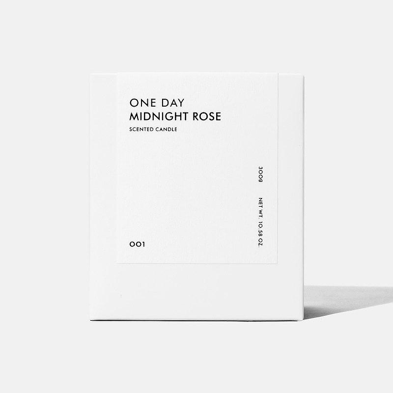 ONE DAY  |  001 MIDNIGHT ROSE  - 香氛蠟燭