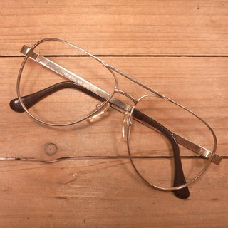 Old bones gold class Ray-Ban metal frame J antique vintage