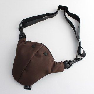 The creature bag small Hime-sagari dark brown navy