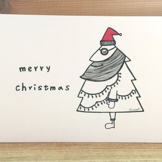 Illustration Postcard - Christmas Santa Claus