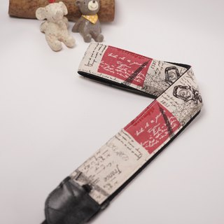 Paris decompression strap camera strap Ukulele Camera Strap