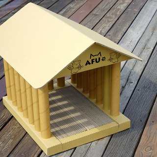 [AFU] Athena Temple Cat House