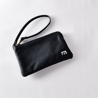 Clutch bag - LEAF black