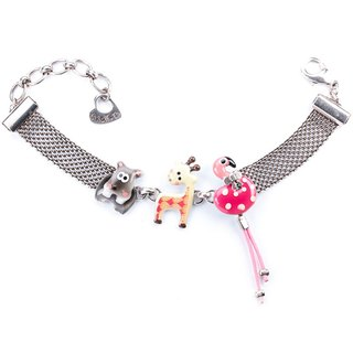 【TARATATA, Paris, France】 Animal Party Series Animal Party Bracelets