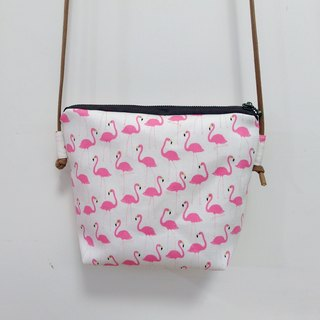 Red-crowned crane friends ◎ travel bag ◎ MIX
