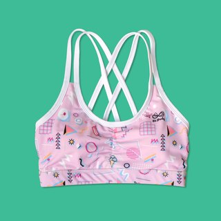 Hello Icecream Strappy Sport bras