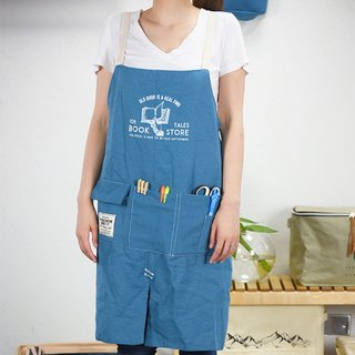 Constantine Market- Working Apron (Blue)