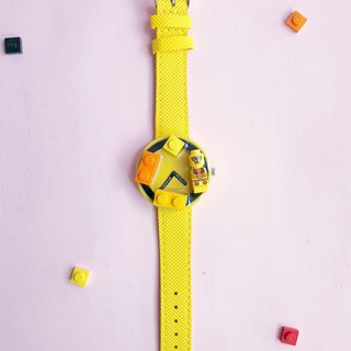 Orange  Yellow  LEGO Watch