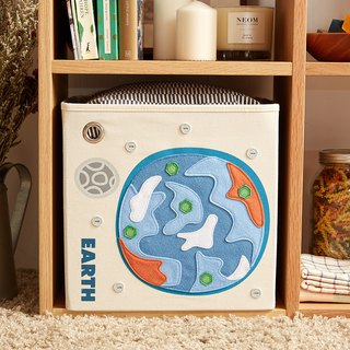 American Kaikai & Ash Toy Storage Box - Earth Graffiti