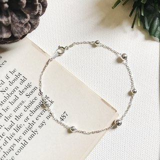 ::Silver Christmas :: Silver Ball Secret Bracelet (Gift Box)