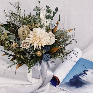 Dry Flower Bouque!!【King of the Gods-Zeus】Dry Flower Bouquet Wedding