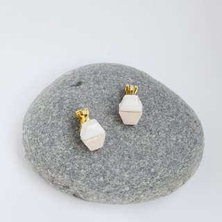 Pill (M001) earrings / ear clip