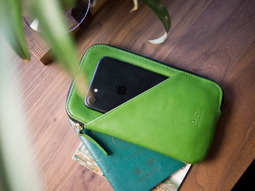 alto Travel Phone Wallet – Lime