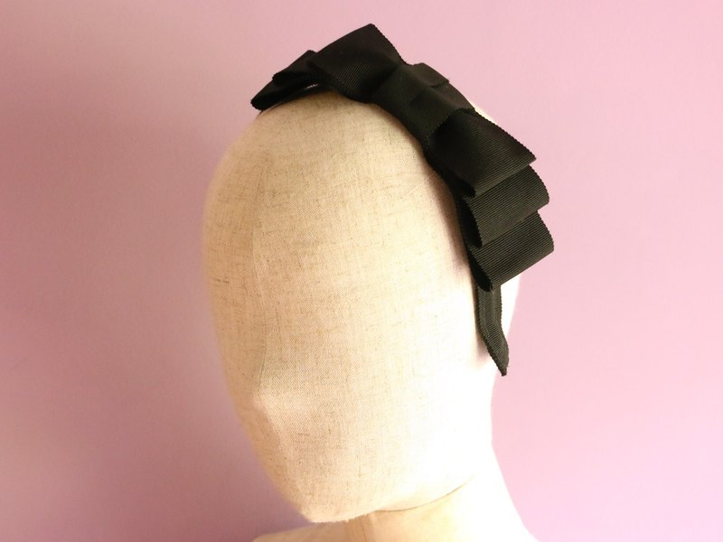 Triple Ribbon Headband