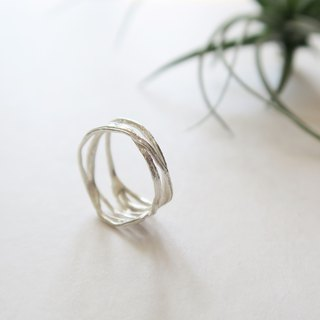 Forest Department 925 Sterling Silver Water Vine Ring