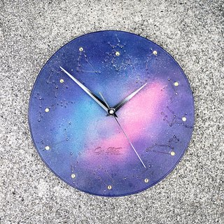 Heart of the Small Universe - Promise of Time Leather Clock Wall Clock
