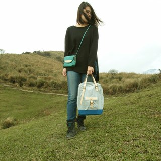 DYDASH【ZeZe Bag】+【Portable Walking Bag】。 (Blue Pop Rocks+Walking Bag)