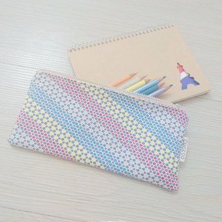 Pencil case stationery cotton linen pen bag tool bag storage bag fun