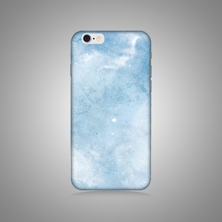 Empty Shell Series - Blue Star Blue Galaxy Original Phone Case / Case (Hard Shell)