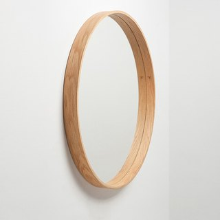 The Mirror Wood Mirror L │ white oak
