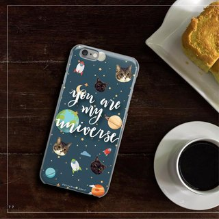Original Pet Mobile Shell x Customized (Starry) iPhone, Android
